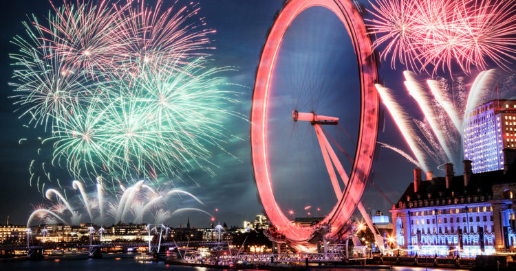 Top things to do in London this New Year's Eve